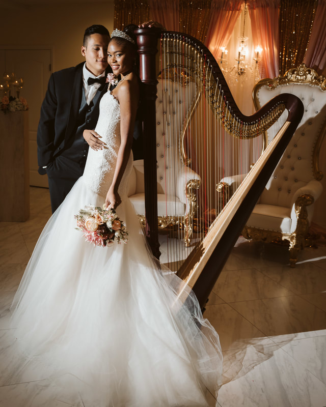 Lakeland Wedding Photographer Florida Harpist