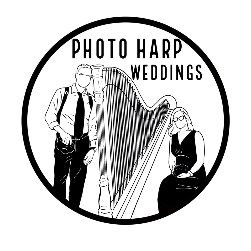Photo Harp Weddings Photography and Harpist Lakeland and Tampa Bay