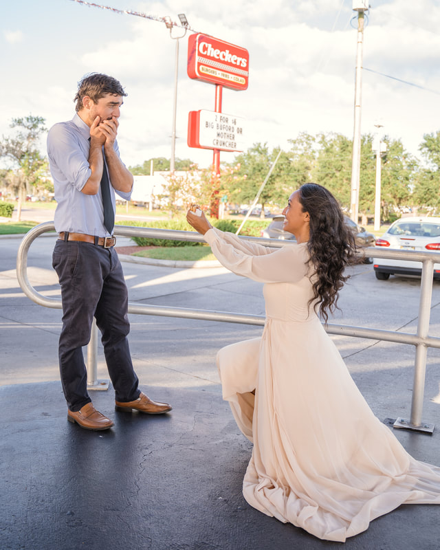 Plant City Engagment photos
